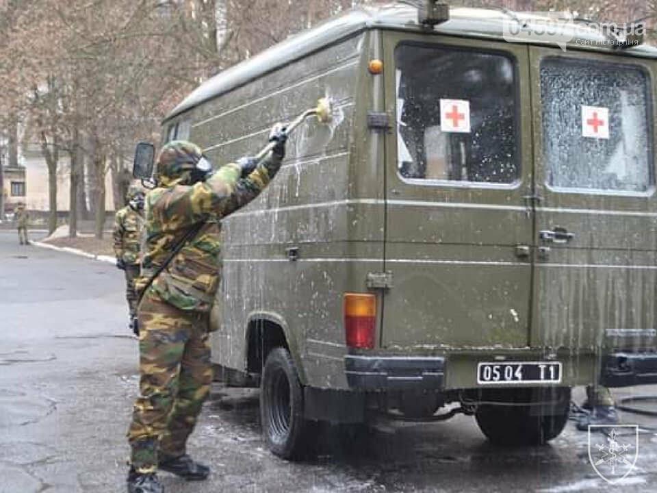 В Ірпені провели тренування військових медиків на випадок спалаху коронавірусу, фото-3