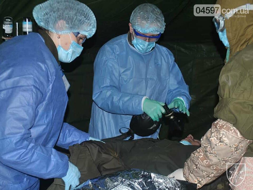 В Ірпені провели тренування військових медиків на випадок спалаху коронавірусу, фото-4