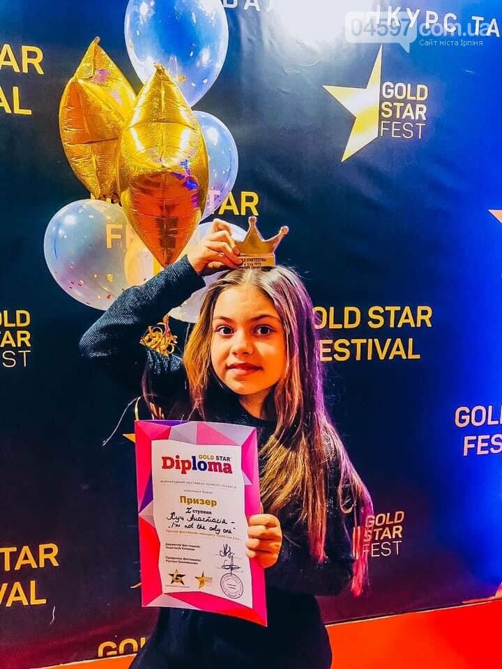 Маленька гостомельчанка перемогла в Міжнародному конкурсі талантів, фото-1