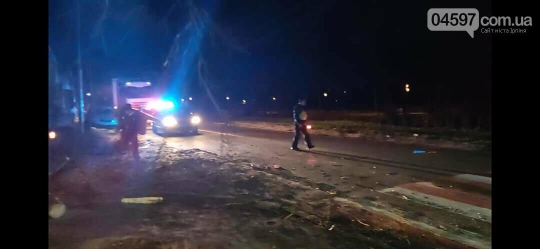 На Варшавці впало дерево на дроти, фото-1