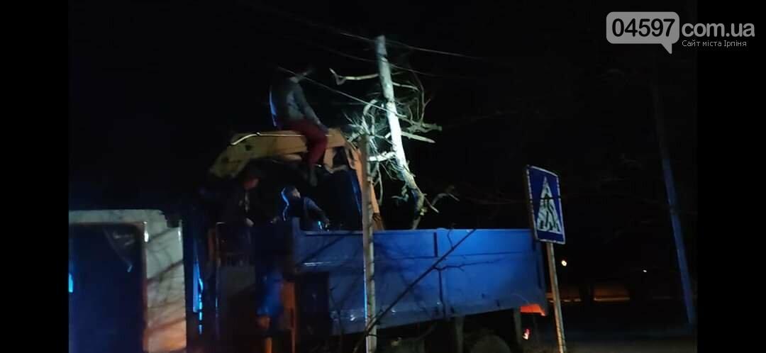 На Варшавці впало дерево на дроти, фото-5