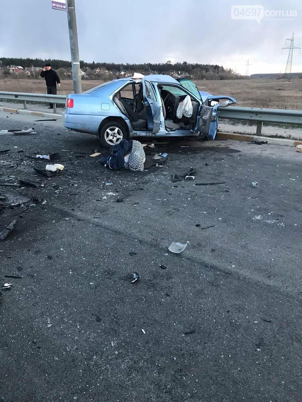 Машину розірвало на шматки: в Ірпені внаслідок ДТП загинув чоловік, фото-1