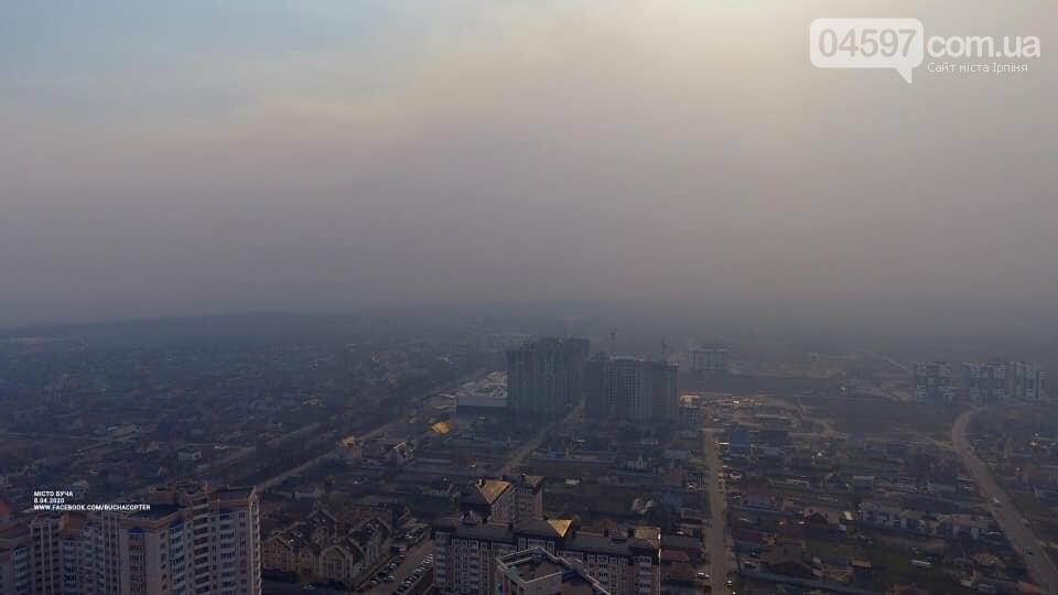 Звідки димова завіса в Приірпінні, фото-2