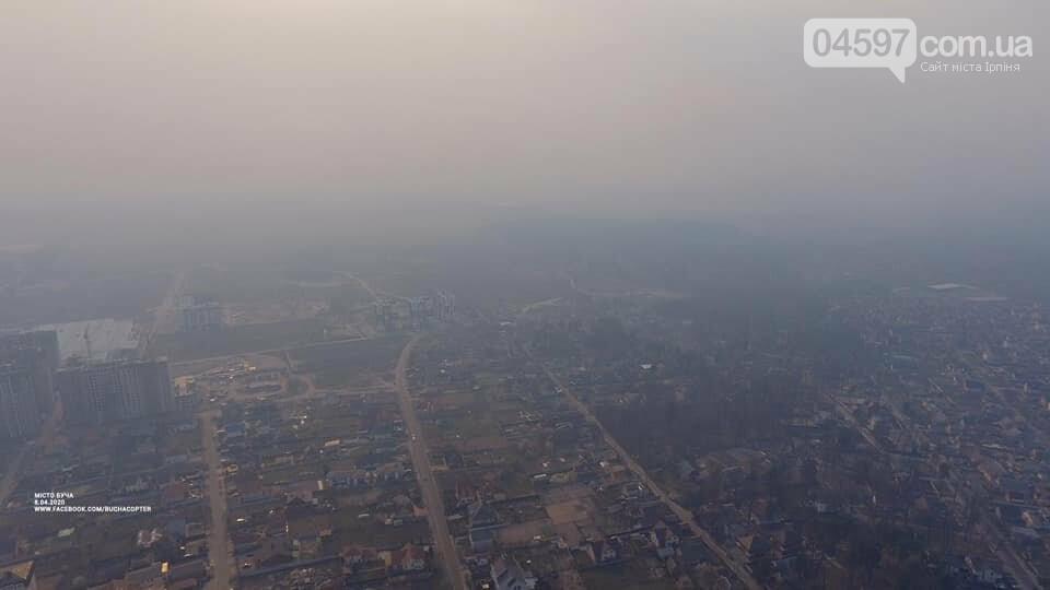 Звідки димова завіса в Приірпінні, фото-3