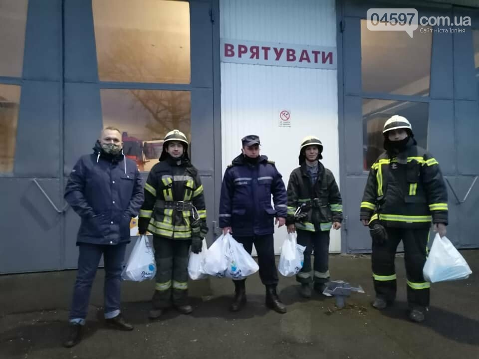 Ірпінські пожежники поїхали гасити пожежу в Чорнобиль, фото-1