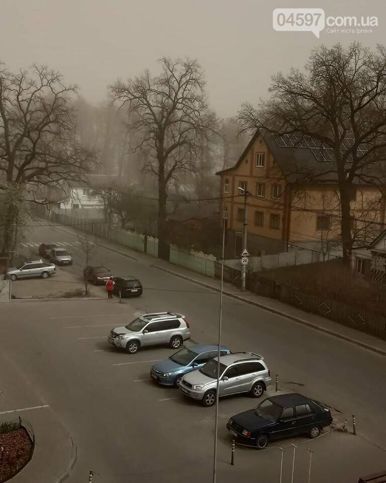 Смог, дим і пил: апокаліпсис в Ірпені, фото-2