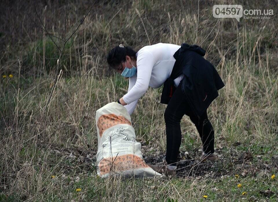 На берегах Земснаряду ірпінчани зібрали 120 мішків сміття, фото-10