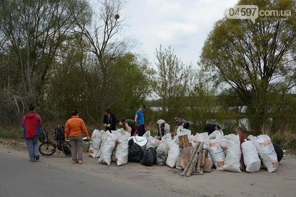 На берегах Земснаряду ірпінчани зібрали 120 мішків сміття, фото-6