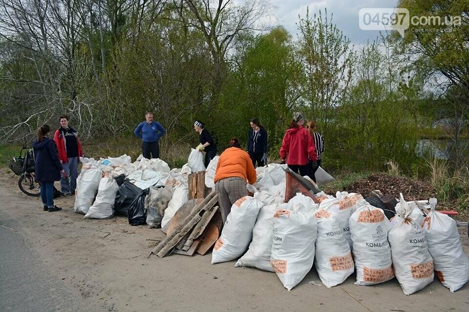 На берегах Земснаряду ірпінчани зібрали 120 мішків сміття, фото-4