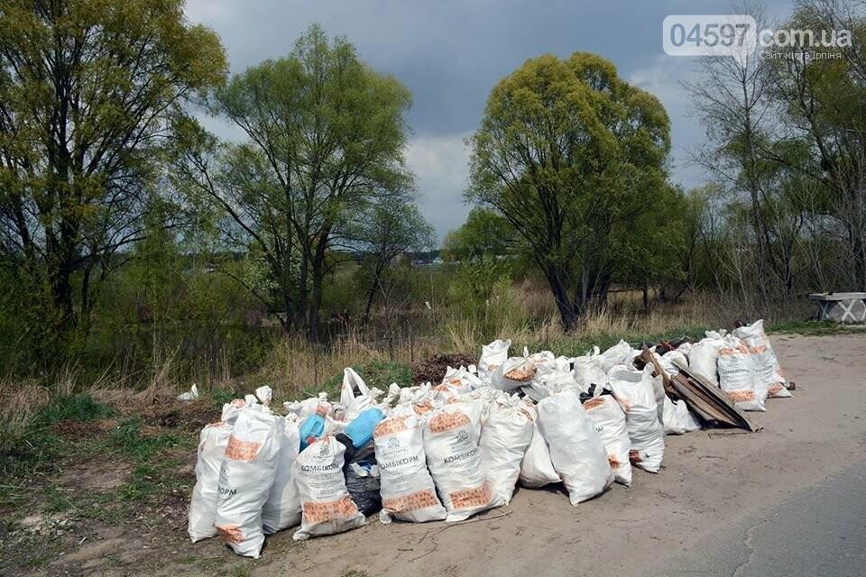 На берегах Земснаряду ірпінчани зібрали 120 мішків сміття, фото-5