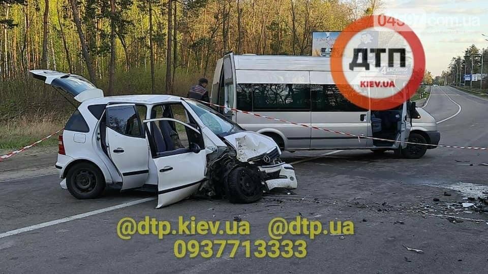 Під Києвом сталася смертельна ДТП: авто відкинуло на відбійник , фото-1