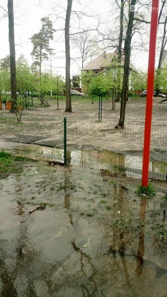 Ірпінські комунальники ліквідують наслідки вчорашньої зливи, фото-1
