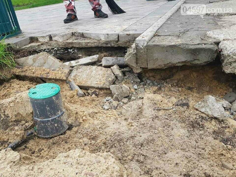 Ірпінські комунальники ліквідують наслідки вчорашньої зливи, фото-3