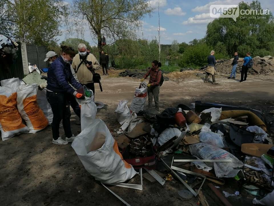 На Земснаряді ірпінчани зібрали 10 тон сміття , фото-10