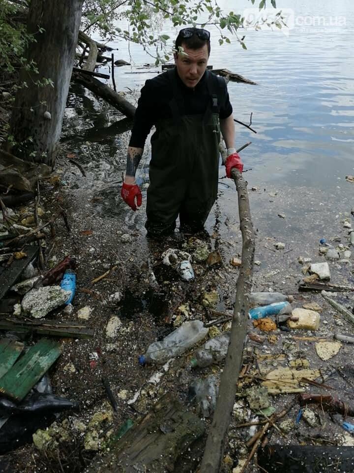 На Земснаряді ірпінчани зібрали 10 тон сміття , фото-4