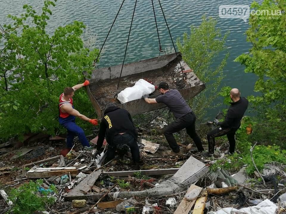 На Земснаряді ірпінчани зібрали 10 тон сміття , фото-7