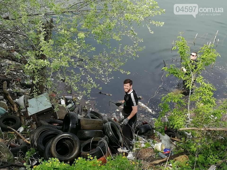 На Земснаряді ірпінчани зібрали 10 тон сміття , фото-8