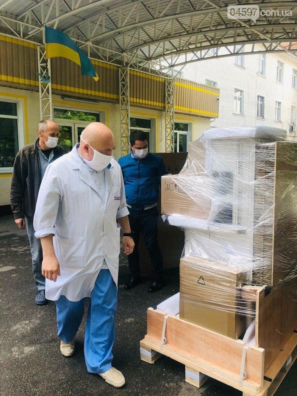В Ірпінську лікарню придбали сучасну наркозно-дихальну станцію, фото-2