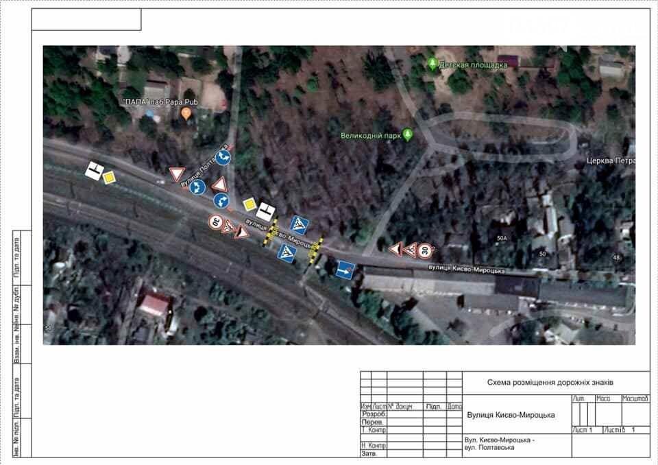 В Бучі встановили нові дорожні знаки, фото-1