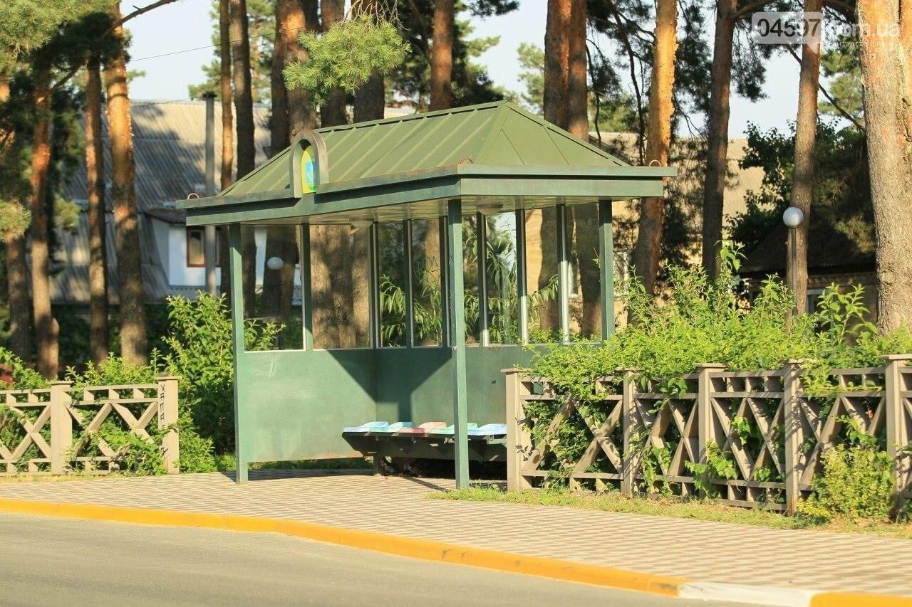 В Ірпені на Соборній встановили нову зупинку, фото-1
