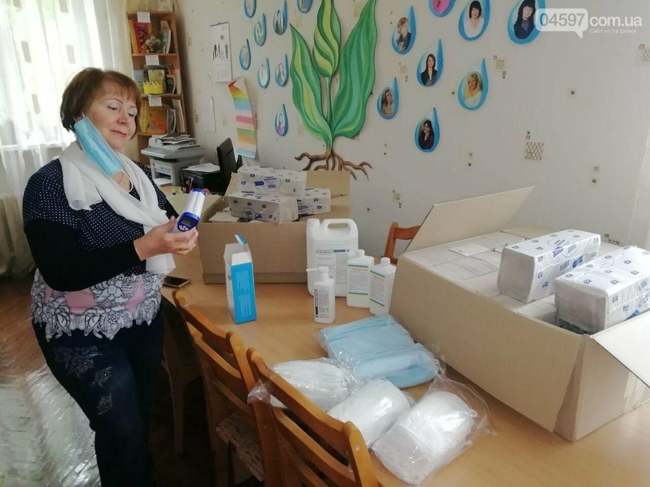 В ірпінські садочки закупили термометри, маски та дезінфектори на 100 тисяч гривень, фото-2