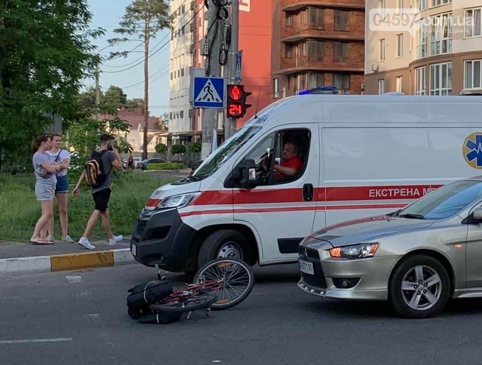 В Ірпені на Університетській збили велосипедиста, фото-2