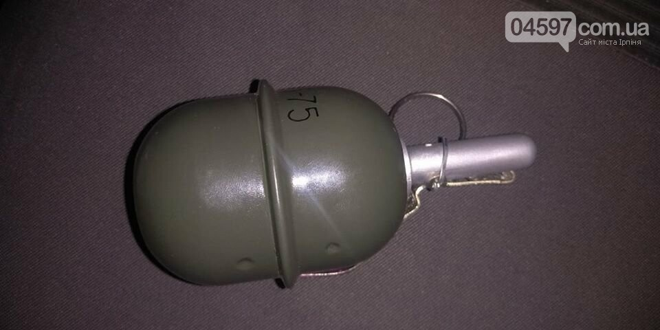 В Ірпені чоловік погрожував імітаційною гранатою, фото-1