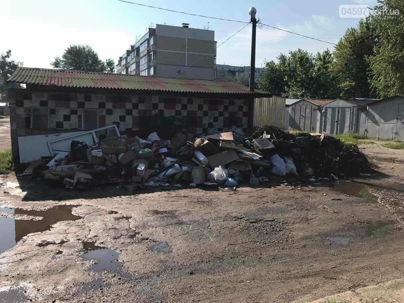 Максим Плешко: звільнимо Гостомель від старого сміття!, фото-1