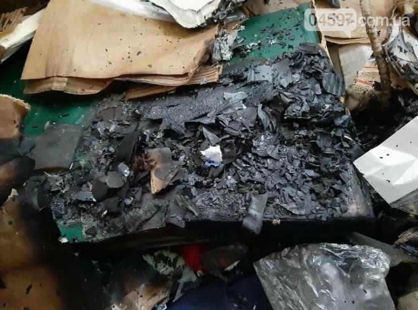 В центрі Ірпеня підпалили приватний будинок (ФОТО), фото-1