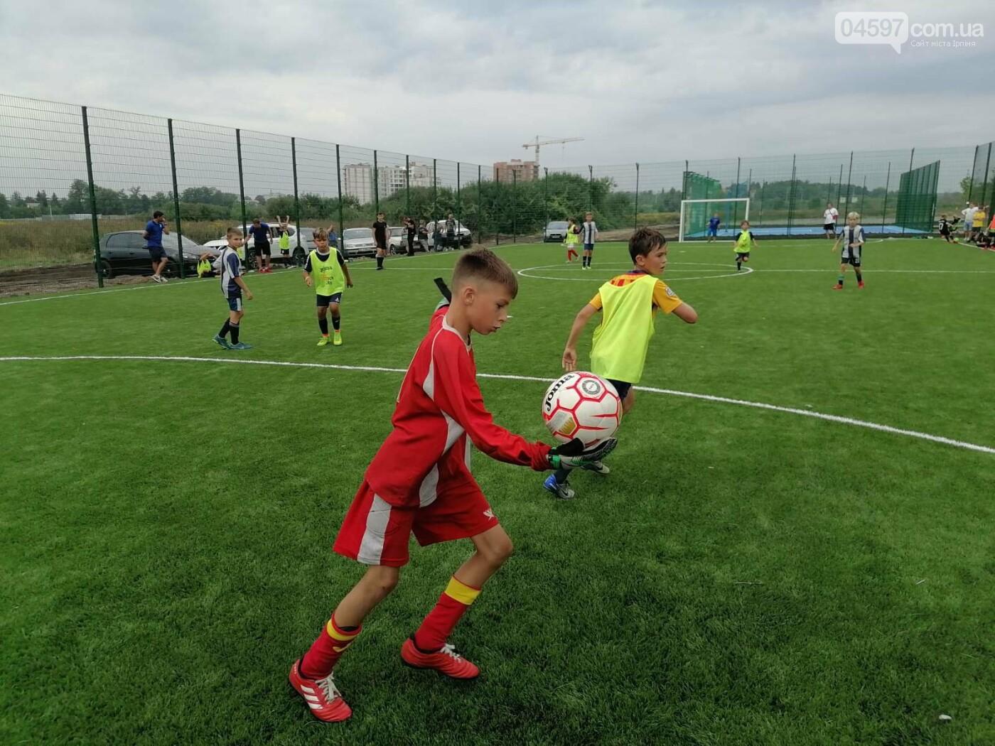 Спочатку діти: на новому полі в Ірпені пройшов чемпіонат з футболу, фото-2