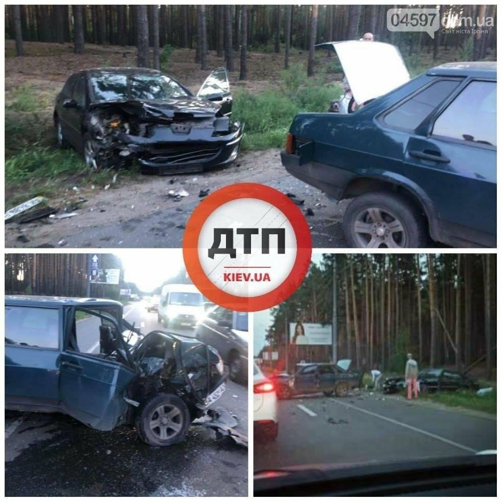 В Ірпені - ДТП з постраждалими: водій заснув за кермом, фото-1