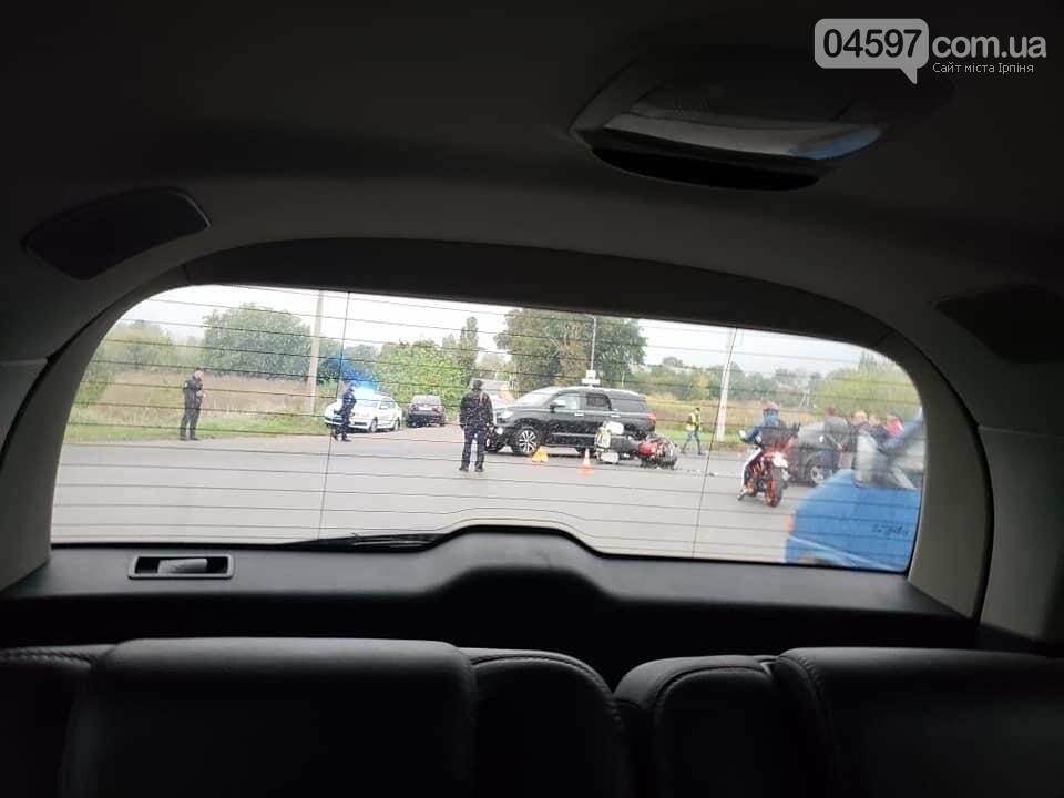 На перехресті між Ворзелем і Бучею потрійне ДТП: мотоцикліст розбився насмерть , фото-2