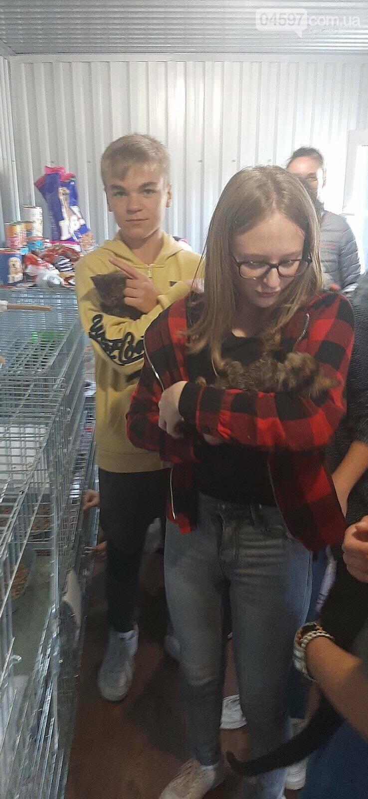 """Діти плакали біля кліток з тваринами: в Ірпені провели """"Урок доброти"""", фото-5"""