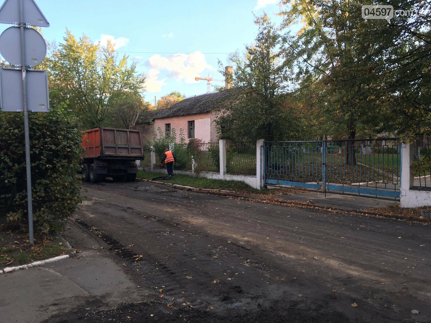 В Бучі вулицю Польову перекрили на ремонт, фото-2