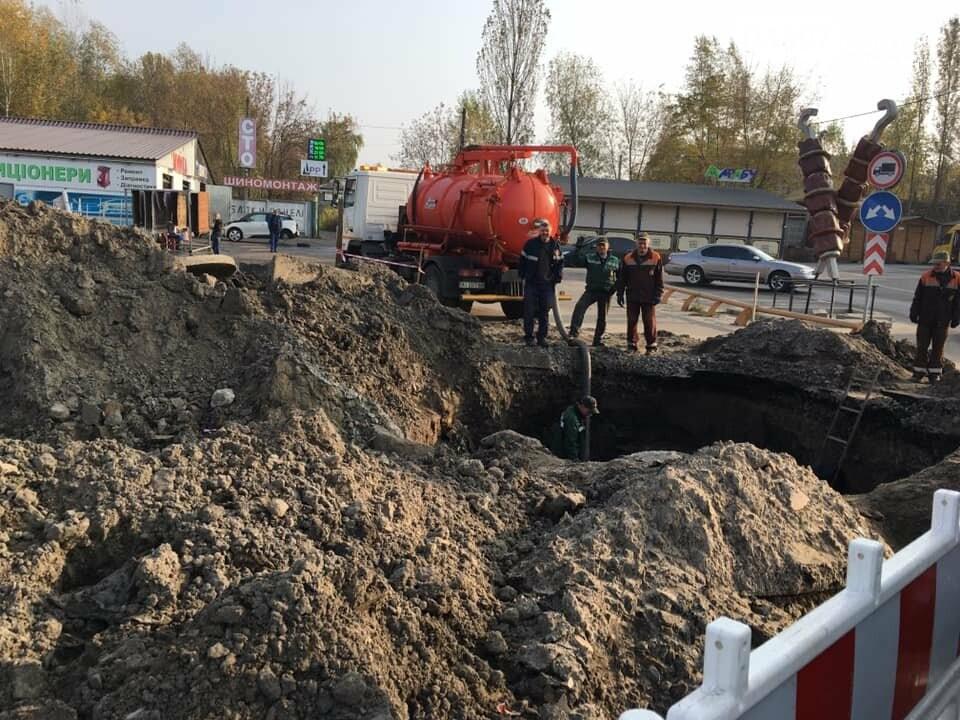 """Дорогу відкриють: """"Ірпіньводоканал"""" завершив ремонтні роботи біля ТЦ """"Жираф"""", фото-2"""