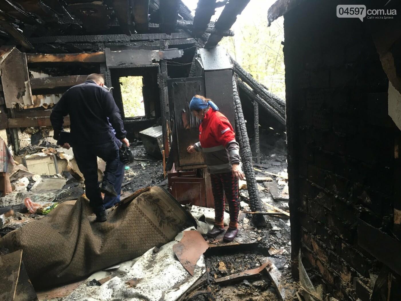 Пожежа в Бучі: у приватному будинку згоріла мансарда, фото-2