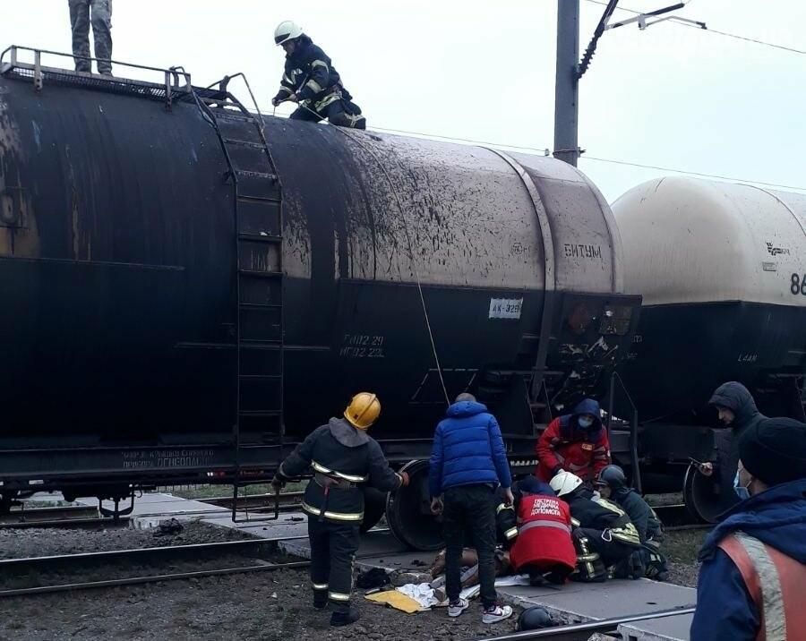 Зараз в реанімації: в Бучі на залізниці чоловіка вдарило струмом, фото-1