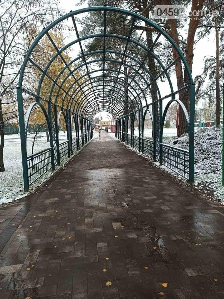 Комунальники Ірпеня з самого ранку почистили дороги від снігу , фото-3