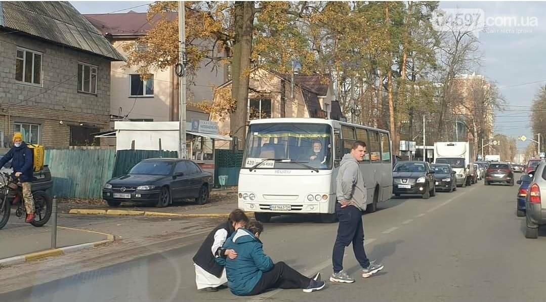 В центрі Ірпеня автівка збила жінку, фото-1
