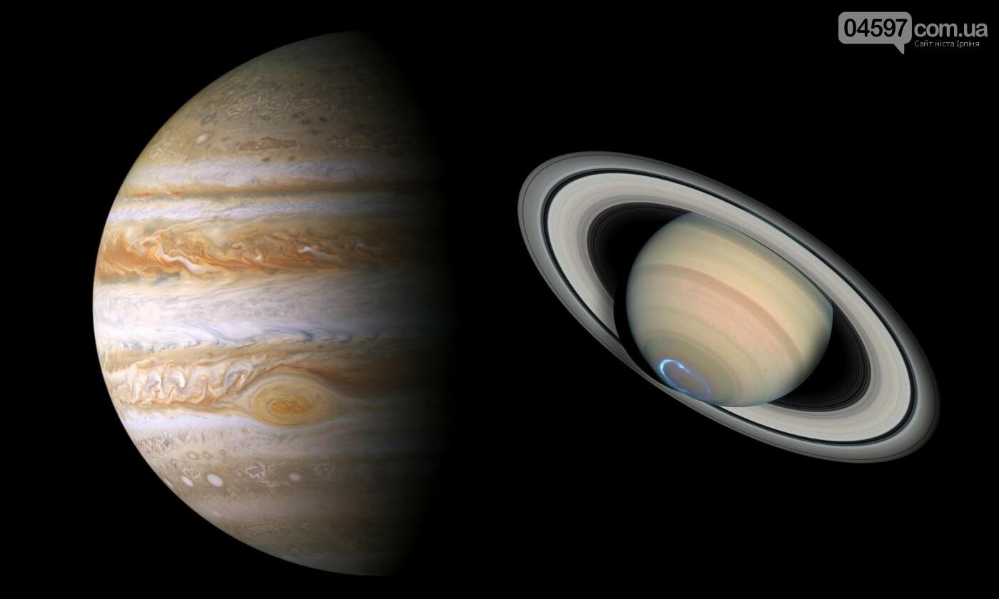 Вперше за 800 років: Сатурн та Юпітер стануть «подвійною планетою», фото-1
