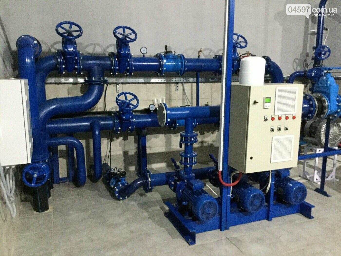 Станція очистки води в Ірпені