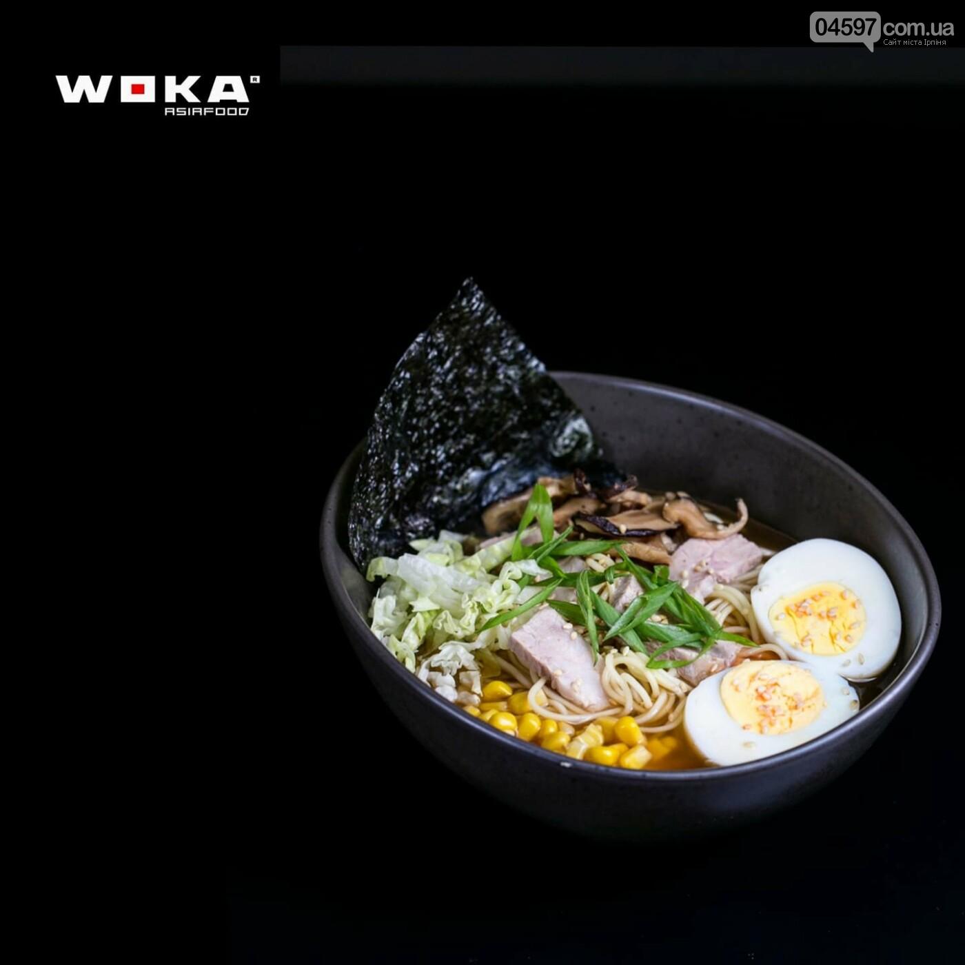 Заклад азіатської кухні WOKA в Ірпені