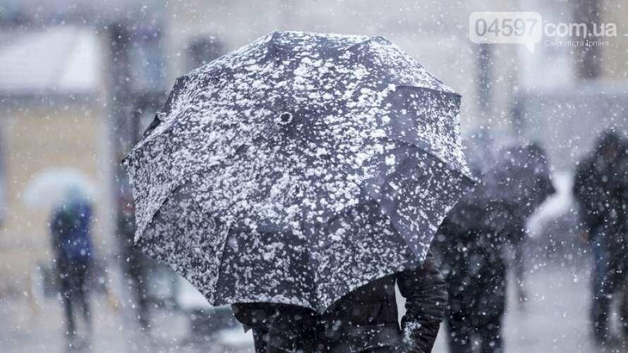 Зима повертається: в Ірпені знову випаде сніг, фото-1