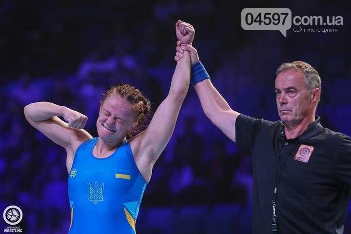 Чемпіонка України з жіночої боротьби Ірина Коляденко з Ірпеня