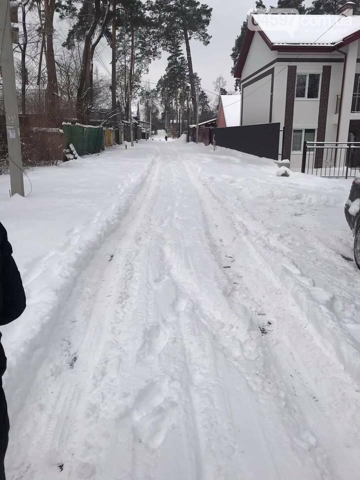 Ірпінські засипало снігом