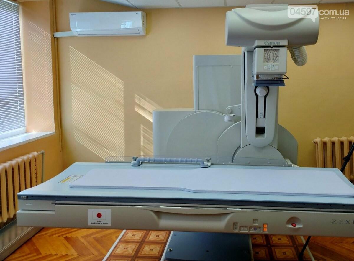 Новий рентген-апарат для військово госпіталю в Ірпені