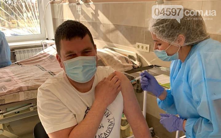 Мер Ірпеня вакцинувався від коронавірусу