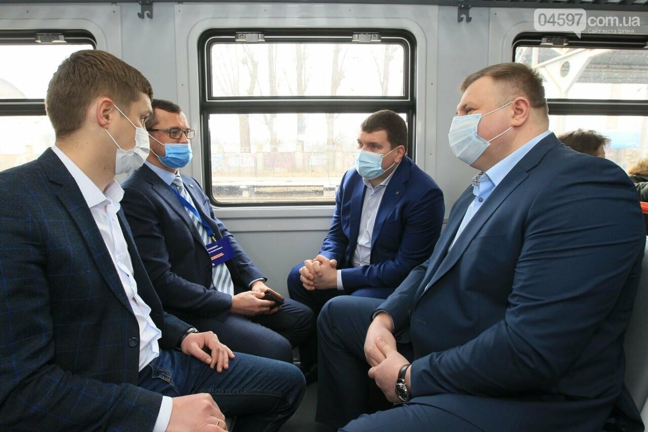 Маркушин протестував нову електричку