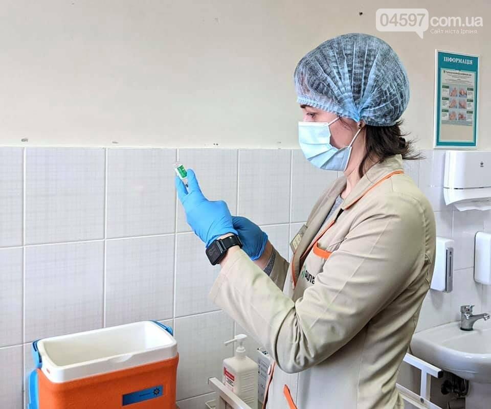 У Бучанській ОТГ успішно старутвала кампанія з вакцинації проти covid