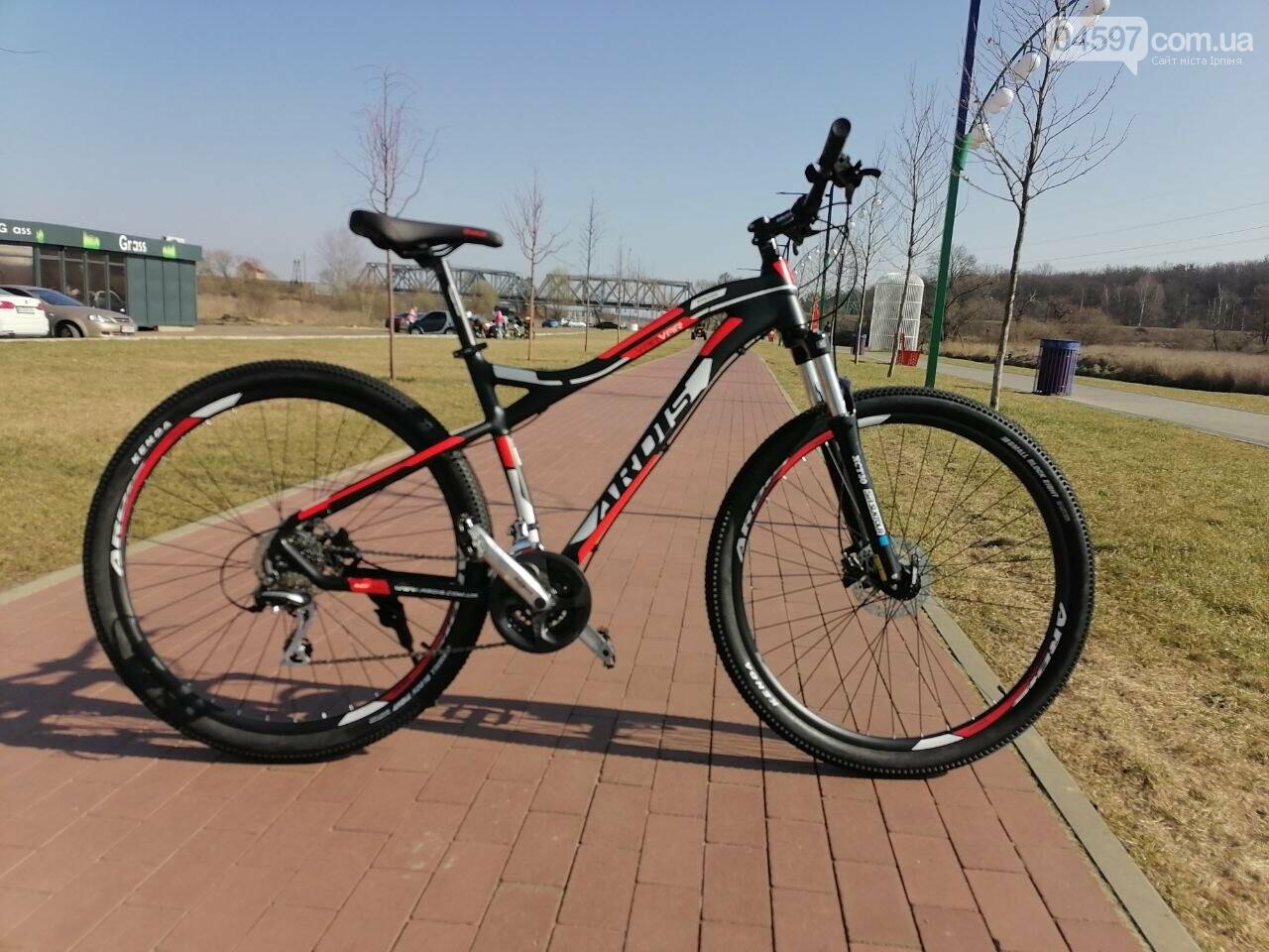 Прокат велосипедів на ірпінській набережній